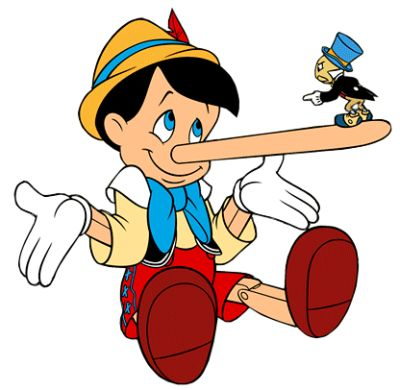 lying