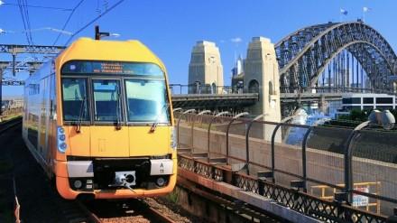 Sydney Trains and Bridge