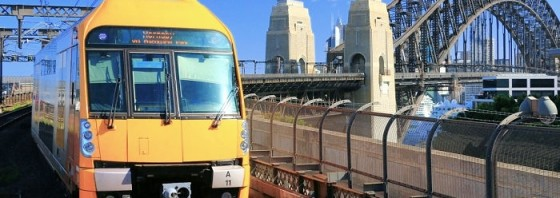 Sydney Trains and Bridge
